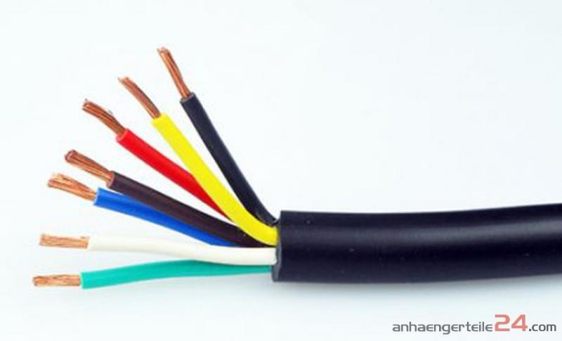 Kabel 7-adrig